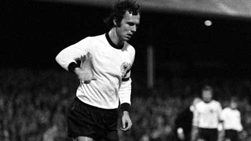 1976 European Footballer of the Year Franz Beckenbauer