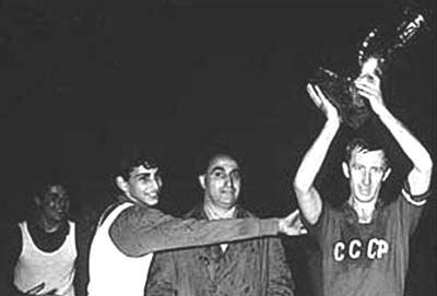 Liên Xô đoạt cúp ngay trong lần đầu tiên giải được tổ chức.