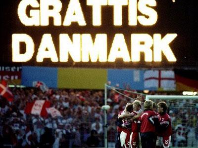 Đan Mạch đã là Vua, chứ không còn là lính nữa