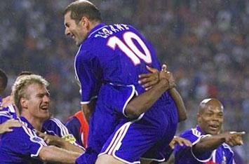 Zidane - nhân tố then chốt trong thành công của đội bóng áo lam