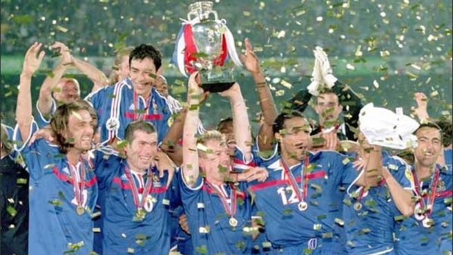 France celebrate becoming champions of Europe